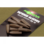 Для карпфишинга KORDA Tapered Silicone Sleeve Brown KTSSB