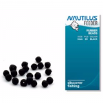 Бусины NAUTILUS art. Rubber Beads 6mm