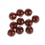 Бусины NAUTILUS art. Soft Beads 6mm mud brown