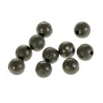 Бусины NAUTILUS art. Soft Beads 6mm olive green