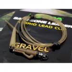 Карповый монтаж KORDA Safezone Leader Hydrid Clip Gravel 40lb KSZ36