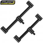 Перекладина MAD BLACK ALUMINIUM Buzzerbars 15+18 cm