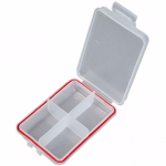 Коробка SALMO box водонепроницаемая 4 ячейки