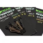 Клипсы KORDA Hybrid Lead Clip Gravel KHCG