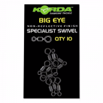 Вертлюжки KORDA BIG EYE SPECIALIST SWIVEL