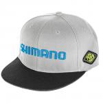 Бейсболка SHIMANO FLAT BRIM CAP GRAY