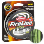 Плетеный шнур BERKLEY FIRELINE FUSED TRACER 0.17 (10.2кг)