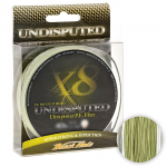 Плетеный шнур BLACK HOLE UNDISPUTED 0,09мм (№0,3) - 4 нити