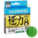 Плетеный шнур SHIMANO KAIRIKI PE 0,20