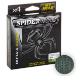 Плетеный шнур SPIDERWIRE DURA 4 GREEN D-0.20 150М