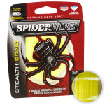 Плетеный шнур SPIDERWIRE STEALTH HI-VIS YELLOW 0,38(137м.)