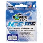 Зимний шнур POWER PRO ICE TEC BLUE 0.10 45m.