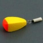 Поплавок SATURN зимний одинарный №1 жёлтый