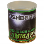 """Прикормка FISH BERRY SPOD MIX Зерновая смесь """"Гаммарус"""" 900мл."""