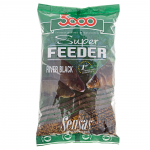 Прикормка SENSAS 3000 Super FEEDER RIVER Black 1кг