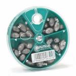 Дробь NAUTILUS Olive Percee 5 Cases 4-10гр