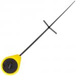 Удилище зимнее GRIFON ICE ROD Спорт жёлтая (с подножкой)