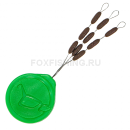 Огрузка для поводка) KORDA SINKERS medium brown (Огрузка для поводка)