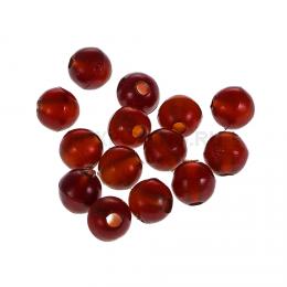 Бусины NAUTILUS art. Soft Beads 4mm dark brown