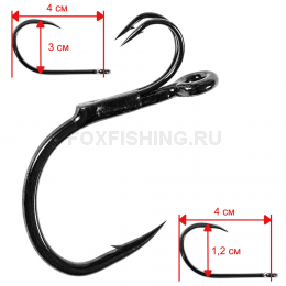 Крючки MADCAT STINGER HOOK №10/0
