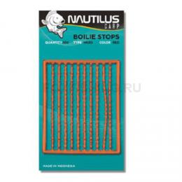 Стопора NAUTILUS Boilie Stops Hard Orange