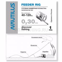 Фидерная оснастка NAUTILUS Патерностер №2 d-0.3mm