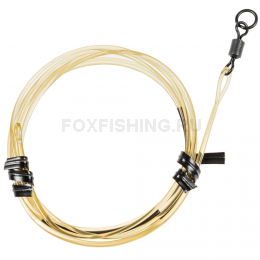 Карповый монтаж KORDA Safe Zone Kamo Leader Ring Swivel Gravel KSZ31