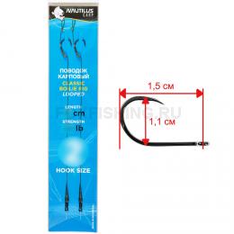 Волосяная оснастка NAUTILUS CLASSIC BOILIE RIG 16 см 25 lb #6