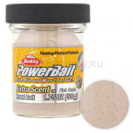 Форелевая паста BERKLEY PowerBait TROUT BAIT FISH SCALE