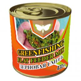 Зерновая смесь GREENFISHING art. МИКС FLAT FEEDER 0,43