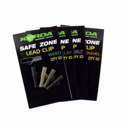 Клипсы KORDA Safe Zone Lead Clips Weed KLCSW