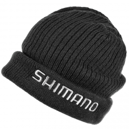 Шапка SHIMANO FLEECE KNIT BREATHHYPE BLACK
