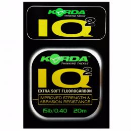 Поводковый материал KORDA IQ2 Fluoracarbon d-0.32мм 20м KIQS10