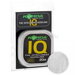 Поводковый материал KORDA IQ Fluoracarbon 20lb 20м KIQ20