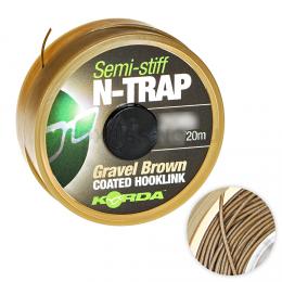 Поводковый материал KORDA N Trap Semi Gravel 20lb KNT14