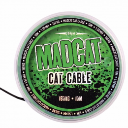Поводковый материал MADCAT CAT CABLE 10m - 1.35mm - 160kg