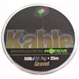 Лидкор KORDA Kable Leadcore 25m 50lb weed