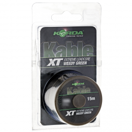 Лидкор KORDA Kable XT Extreme Leadcore 15m 70lb green