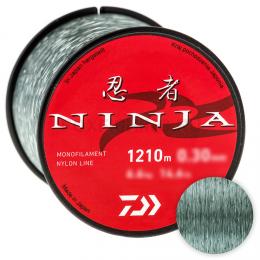 Леска DAIWA NINJA X LINE 2250м. 0.23мм GRAY