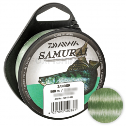 Леска DAIWA SAMURAI ZANDER 500м. 0.25мм. GREEN