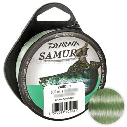Леска DAIWA SAMURAI ZANDER 450м. 0.30мм. GREEN