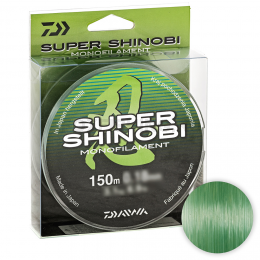 Леска DAIWA SUPER SHINOBI 150м. 0.18мм. GREEN