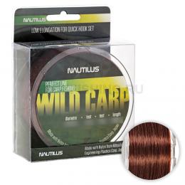 Леска NAUTILUS Wild Carp 600м. 0.33мм. BROWN