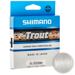 Леска SHIMANO TROUT 150м. 0.165мм. CLEAR