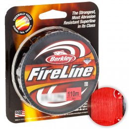 Плетеный шнур BERKLEY FIRELINE RED 0.32mm 110m