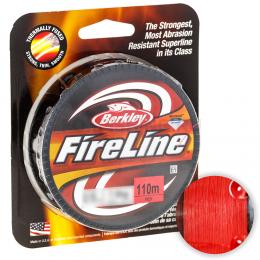 Плетеный шнур BERKLEY FIRELINE RED 110м. 0.39мм. RED