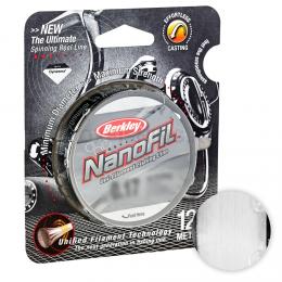 Плетеный шнур BERKLEY NANOFIL CLEAR 0,12 мм (125)