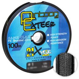 Плетеный шнур PONTOON 21 EXTEER X4 100м. 0.330мм. BLACK