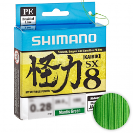 Плетеный шнур SHIMANO KAIRIKI PE 0,12
