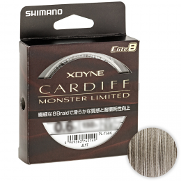 Плетеный шнур SHIMANO X-DYNE Cardif Monster LTD X8 150м. 0.6PE GRAY